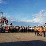 Pelabuhan Pontianak Gelar Apel Posko Angkutan Lebaran 2018