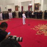 Presiden Lantik Laksdya TNI Siwi Sukma Adji sebagai Kasal