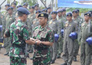 Serah terima jabatan Komandan Sekasael Pusdiksus.