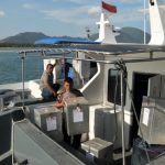 Logistik Pilkada Sampai di Masalembu Setelah 17 Jam Perjalanan Laut