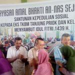 Yayasan An-Nas Berbagi Jelang Idul Fitri
