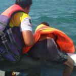 Kapal Patroli KPLP Cari Korban Tenggelamnya KM Arista di Perairan Khayangan