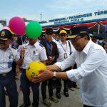 Pelni dan Menhub Sambut 3 Kapal Mudik Gratis di Pelabuhan Tanjung Priok