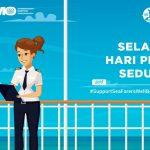 """Hari Pelaut Sedunia 2018 tema """"Seafarer Wellbeing"""" Soroti Kesejahteraan"""