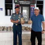 Lanal Tanjung Balai Karimun Serahkan 185 Cagar Budaya ke Disparbud