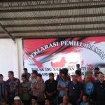 Nelayan Balikpapan Deklarasi Pilkada Damai dan Anti-Hoax