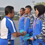 Sambut Kontingen Atlet Poral, Pangkolinlamil Minta Tingkatkan Prestasi di Masa Datang