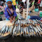 Penjual Sulit Dapatkan Ikan Dari Nelayan Akibat Cuaca Buruk di Perairan Sitaro