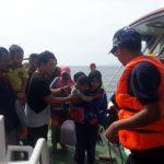 Penumpang Kapal Cahaya Arafah yang Rusak Mesin, Dievakuasi Patroli KPLP Soasio