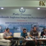 Soroti Pembenahan Transportasi Perairan, IK2MI Gelar Round Table Discussion