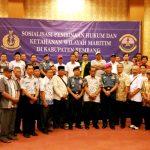 Bina Masyarakat Maritim, Lanal Semarang Bekali Nelayan Rembang Materi Hukum dan Ketahanan Wilayah