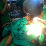 Jumlah Pasien Korban Gempa Lombok KRI dr. Soeharso-990 Mulai Menurun