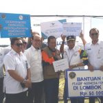 Peduli Gempa Lombok, BKI Serahkan Bantuan Tunai ke Pemda NTB