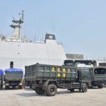 Dukung Pemulihan Lombok, KRI Banjarmasin-592 Angkut SRCPB