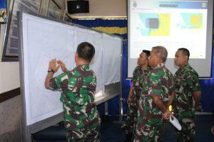 Inspeksi kegiatan survei di Perairan Bengkulu.