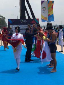 Atlet dayung Kolinlamil yang berlaga di Asian Games 2018 Jakarta dan Palembang