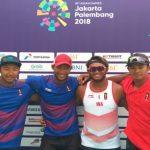 Tim Voli Pantai Putra Sumbangkan Medali Perak dan Perunggu Pada Asian Games