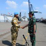 Kasal Lepas Satgas Maritim Konga XXVIII-K/UNIFIL KRI SULTAN HASANUDDIN-366 Menuju Lebanon
