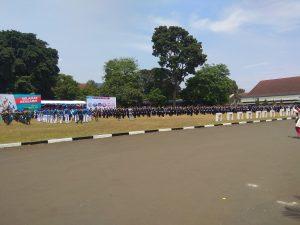 Suasana Wisuda Sarjana Terapan Perikanan Angkatan 50 dan Program Pascasarjana Angkatan VI Tahun 2018.