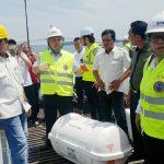 BTKP, Disnav dan Syahbandar Uji Alat Keselamatan Pelayaran di Batam