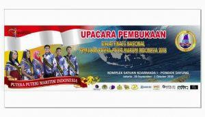 Pembukaan Putera dan Puteri Maritim Indonesia.