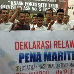 Dukung Jokowi Satu Kali Lagi, Aktivis Maritim Indonesia Deklarasikan Pena Maritim