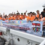 Perkuat Jiwa Kemaritiman, Kolinlamil Ajak Mayarakat Kunjungi Kapal Perang