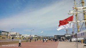 KRI Bima Suci di Jeju-Do, Korel. (Foto: Kapten Laut (E) Elfan Muditya Wardana)