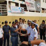 Bantuan Posko Kemenhub Peduli Dilepas dari Pelabuhan Tanjung Priok