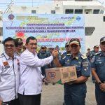 Posko Terpadu Pelabuhan Banjarmasin untuk Korban Gempa dan Tsunami