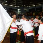 Dipercaya Menjadi Tuan Rumah, Danseskoal Membuka Kejuaran Pencak Silat Merpati Putih se DKI Jakarta