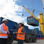 Kini Pelabuhan Sibolga punya Fix Crane