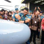 Perkuat Ruang Udara, TNI AL Terima Pesawat CN-235 dan Helikopter AKS