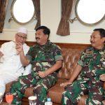 Pelayaran Kebangsaan, Silaturahmi Panglima TNI Bersama Tokoh Agama dan Pimpinan Media