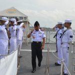Kepala Bakamla RI Berkunjung Ke Kapal Perang Usman Harun-359