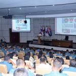Beri Kuliah Umum di Seskoal, Menko Puan Tekankan Pentingnya Bersinergi dengan TNI AL
