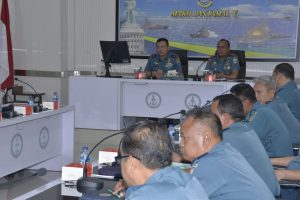Komandan Lantamal V Pimpin Rapat Apresiasi SIMRS.