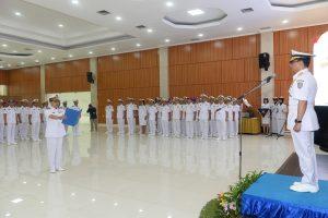 Wadan Seskoal membuka Kursus Manajemen Stratejik TNI AL.