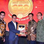 Gaya Farid Padang Raih Indonesia Most Admired CEO 2019