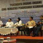 IK2MI Gelar Diskusi Pentingnya Undang-undang Keamanan Laut
