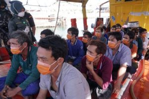 68 WNA Vietnam pencuri ikan di Natuna Utara yang ditangkap oleh PSDKP