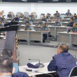 Laksdya TNI (Purn) Djoko Sumaryono Beri Kuliah Kepemimpinan Nasional Kepada Pasis Seskoal