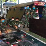 Tim Penanggulangan Dampak Covid-19 Koarmada II Gelar Tactical Floor Game Jelang Simulasi Lapangan