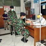 Cegah Penyebaran Covid-19, Personel Seskoal Rapid Test