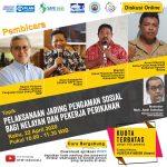 """Hidup Nelayan Semakin Sulit, DFW Indonesia Gelar Diskusi """"Pelaksanaan Jaring Pengaman Sosial Bagi Nelayan dan Pekerja Perikanan Mendesak Dilaksanakan"""""""