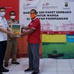 Dampak Covid-19, JAI Tbk Salurkan 500 Paket Sembako