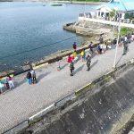 Tim SFQR Lanal Melonguane Dukung Satgas Covid -19 di Pelabuhan Beo
