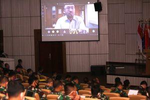 Kuliah Kerja Manajemen dan Logistik virtual Seskoal.