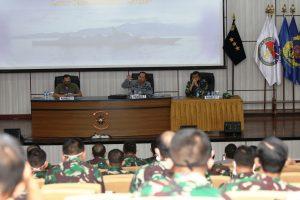 """Diskusi  panel Seskoal """"Peran Polisionil TNI Angkatan Laut Dihadapkan Dengan Perwujudan Omnibus Law Keamanan Laut."""