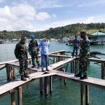 Perkuat Ketahanan Pangan Nasional, Lanal Kendari Budidayakan Ikan Putih